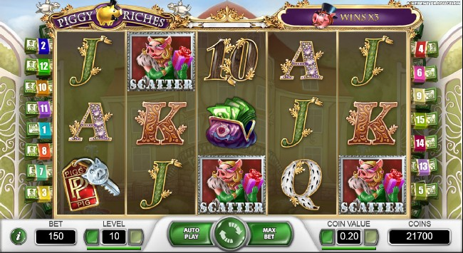 Piggy Riches Slot Netent