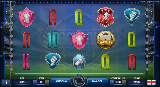 Play Football Slot NeTent