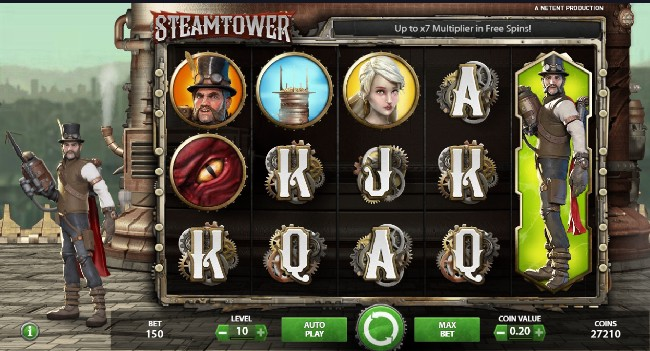 Steam Tower Slot NeTent