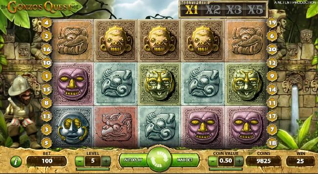 Gonzos Quest Slot NeTent